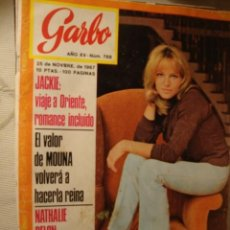 Coleccionismo de Revista Garbo: REVISTA GARBO Nº AÑO EN PORTADA: LOT80.. Lote 41613249