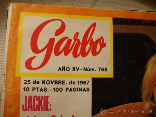 Coleccionismo de Revista Garbo: REVISTA GARBO Nº AÑO EN PORTADA: LOT80. - Foto 2 - 41613249