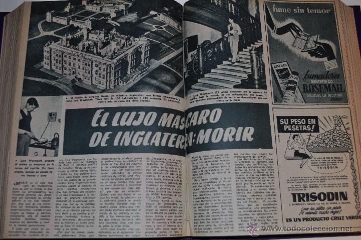Coleccionismo de Revista Garbo: Revista semanal GARBO. De 6 de noviembre de 1954 al 19 de marzo de 1955, ambas inclusive. RM64748 - Foto 2 - 41639832