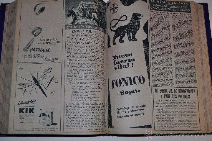 Coleccionismo de Revista Garbo: Revista semanal GARBO. De 26 de marzo a 13 de agosto de 1955, ambas inclusive. RM64749 - Foto 2 - 41639875