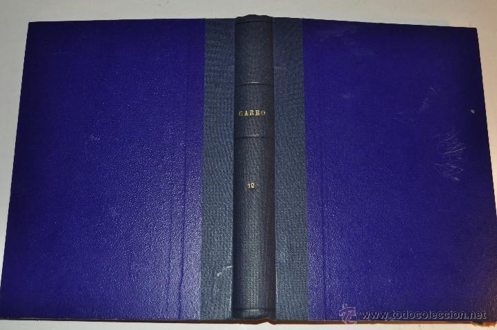 REVISTA SEMANAL GARBO. DE 22 DE JUNIO DE 1957 A 21 DE SEPTIEMBRE DE 1958, AMBAS INCLUSIVE..RM64756 (Coleccionismo - Revistas y Periódicos Modernos (a partir de 1.940) - Revista Garbo)