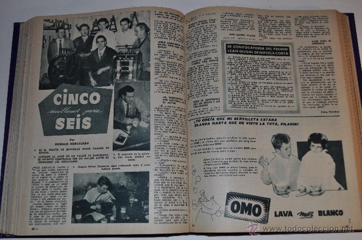 Coleccionismo de Revista Garbo: Revista semanal GARBO. De 20 de septiembre de 1958 a 3 de enero de 1959, ambas inclusive. RM64757 - Foto 2 - 41640323