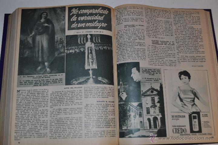 Coleccionismo de Revista Garbo: Revista semanal GARBO. De 16 de mayo a 13 de septiembre de 1958, ambas inclusive. RM64758 - Foto 2 - 41640370