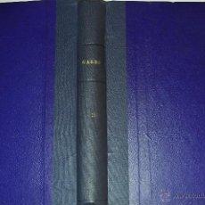 Coleccionismo de Revista Garbo: REVISTA SEMANAL GARBO. DE 28 DE SEPTIEMBRE A 28 DE DICIEMBRE DE 1957, AMBAS INCLUSIVE. RM64759. Lote 41640801