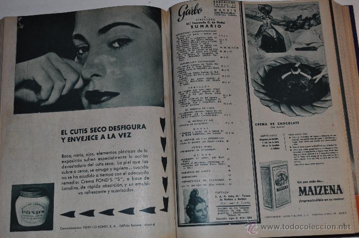 Coleccionismo de Revista Garbo: Revista semanal GARBO. De 10 de enero a 9 de mayo de 1959, ambas inclusive. RM64760 - Foto 2 - 41640837