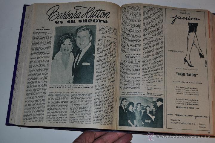 Coleccionismo de Revista Garbo: Revista semanal GARBO. De 13 de febrero a 25 de junio de 1960, ambas inclusive. RM64763 - Foto 2 - 41640978