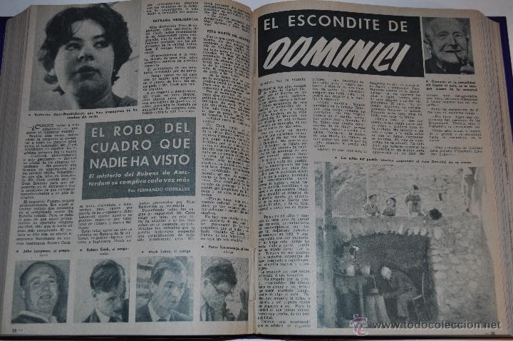 Coleccionismo de Revista Garbo: Revista semanal GARBO. De 2 de julio a 12 de noviembre de 1960, ambas inclusive.. RM64764 - Foto 2 - 41641051