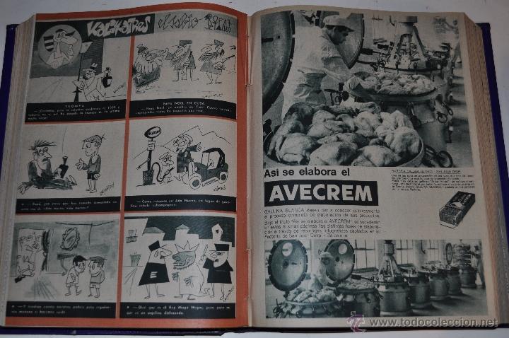 Coleccionismo de Revista Garbo: Revista semanal GARBO. De 19 de noviembre de 1960 a 11 de marzo de 1961, ambas inclusive. RM64765 - Foto 2 - 41641096