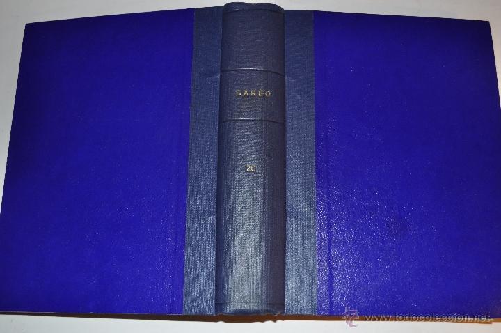REVISTA SEMANAL GARBO. DE 18 DE MARZO A 5 DE AGOSTO DE 1961, AMBAS INCLUSIVE. . RM64766 (Coleccionismo - Revistas y Periódicos Modernos (a partir de 1.940) - Revista Garbo)