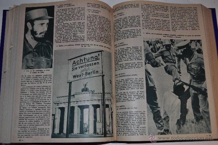 Coleccionismo de Revista Garbo: Revista semanal GARBO. De 18 de marzo a 5 de agosto de 1961, ambas inclusive. . RM64766 - Foto 2 - 41641167