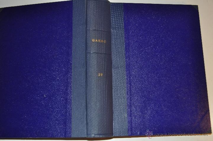 REVISTA SEMANAL GARBO. DE 8 DE JUNIO A 7 DE SEPTIEMBRE DE 1963, AMBAS INCLUSIVE... RM64768 (Coleccionismo - Revistas y Periódicos Modernos (a partir de 1.940) - Revista Garbo)