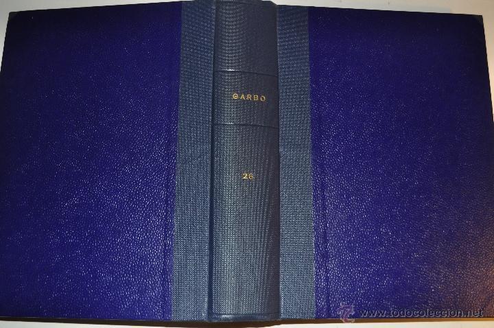 REVISTA SEMANAL GARBO. DE 14 DE SEPTIEMBRE A 28 DE DICIEMBRE DE 1963, AMBAS INCLUSIVE.. RM64769 (Coleccionismo - Revistas y Periódicos Modernos (a partir de 1.940) - Revista Garbo)