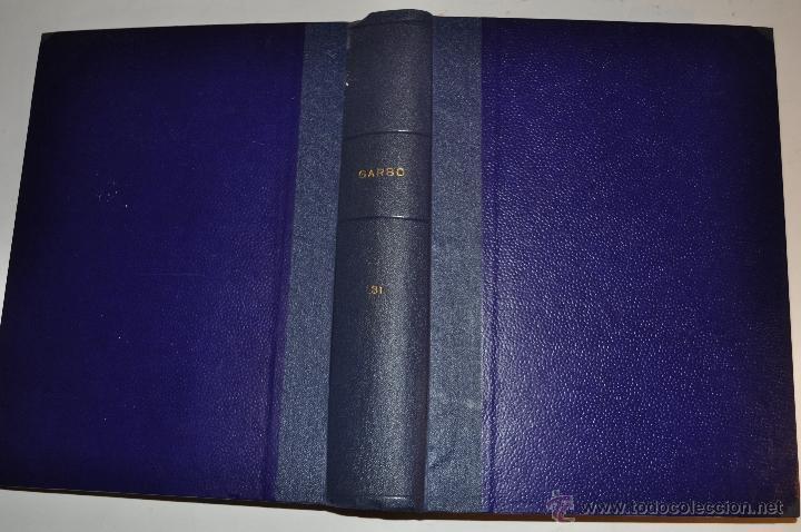 REVISTA SEMANAL GARBO. DE 8 DE AGOSTO A 21 DE NOVIEMBRE DE 1964, AMBAS INCLUSIVE. RM64772 (Coleccionismo - Revistas y Periódicos Modernos (a partir de 1.940) - Revista Garbo)