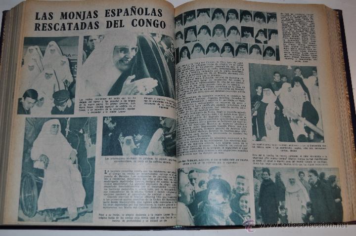 Coleccionismo de Revista Garbo: Revista semanal GARBO. De 28 de noviembre de 1964 a 6 de marzo de 1965, ambas inclusive. RM64773 - Foto 2 - 41641902