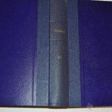Coleccionismo de Revista Garbo: REVISTA SEMANAL GARBO. DE 23 DE JULIO A 8 DE OCTUBRE DE 1966, AMBAS INCLUSIVE. RM64779. Lote 41642965