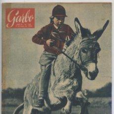 Coleccionismo de Revista Garbo: REVISTA GARBO Nº 166 - MAYO DE 1956. Lote 41793968