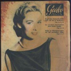 Coleccionismo de Revista Garbo: REVISTA GARBO Nº 184 - SEPTIEMBRE 1956 - PORTADA VERA MILES. Lote 41794007
