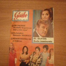 Coleccionismo de Revista Garbo: REVISTA GARBO Nº 840- 9 ABRIL 1969- . Lote 42444337
