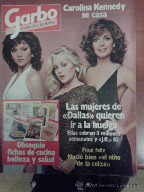 Cocina Con Silvia Tortosa | Revista Garbo 1982 Dallas Veruska Bisset Farrah Comprar Revista