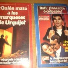 Colecionismo da Revista Garbo: QUIEN MATO A LOS MARQUESES DE URQUIJO??_RAFI INOCENTE O CULPABLE??. Lote 43153611
