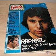Coleccionismo de Revista Garbo: RAPHAEL: ME CASARÉ... Y EL AMOR DE EL CORDOBES - REVISTA GARBO DE AGOSTO 1971 NÚMERO 956. Lote 43239064