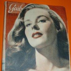 Coleccionismo de Revista Garbo: REVISTA GARBO MARZO 1954 ELAINE STEWART. Lote 43403695