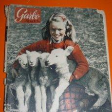 Coleccionismo de Revista Garbo: REVISTA GARBO ABRIL 1954. Lote 43403834