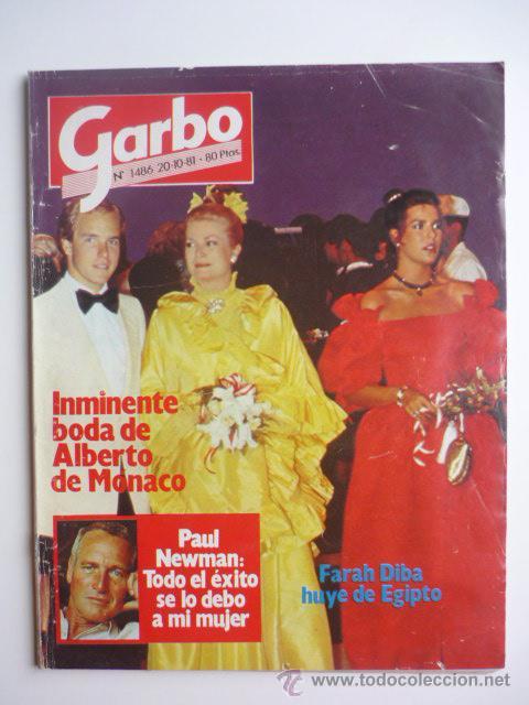 REVISTA GARBO - 20 OCTUBRE 1981- NUM. 1486 (Coleccionismo - Revistas y Periódicos Modernos (a partir de 1.940) - Revista Garbo)