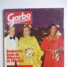 Coleccionismo de Revista Garbo: REVISTA GARBO - 20 OCTUBRE 1981- NUM. 1486. Lote 43665070