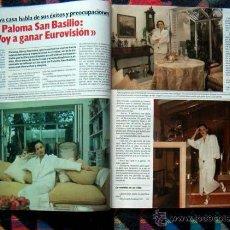 Coleccionismo de Revista Garbo: REVISTA GARBO / PALOMA SAN BASILIO, CARMEN MAURA, ANDREA CASIRAGHI, CAROLINA DE MONACO, HESTON. Lote 43721410