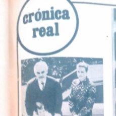 Coleccionismo de Revista Garbo: RECORTES GRACE KELLY GRACIA DE MONACO. Lote 43823406