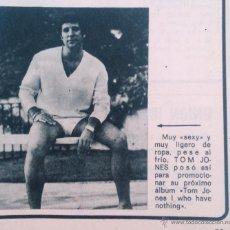 Coleccionismo de Revista Garbo: RECORTES TOM JONES. Lote 43823426