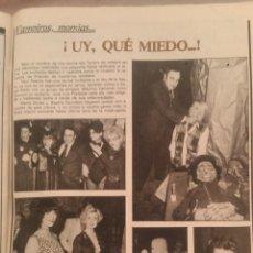 Collectionnisme de Magazine Garbo: RECORTES PAUL NASCHY MAXIMO VALVERDE. Lote 43825788