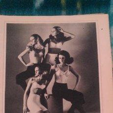 8e0dacad38 recortes anuncio vintage belcor sostenes y faja - Comprar Revista Garbo en  todocoleccion - 43988265