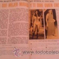 Coleccionismo de Revista Garbo: RECORTES RAQUEL WELCH NATHALIE DELON IRA DE FURSTEMBERG URSULA ANDRESS ROMY SCHNEIDER SANDRA MILO. Lote 44065466