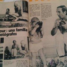 Coleccionismo de Revista Garbo: RECORTES CHARLES AZNAVOUR. Lote 44093508