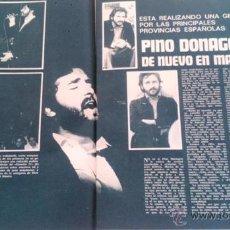 Coleccionismo de Revista Garbo: RECORTES PINO DONAGGIO. Lote 44093533