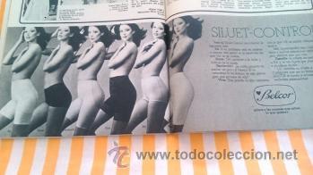 96174d8f9f RECORTES anuncio vintage BELCOR SOSTENES Y FAJAS ROPA INTERIOR FEMENINA  LENCERIA