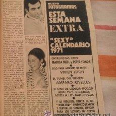 Coleccionismo de Revista Garbo: RECORTES JULIO IGLESIAS ISABEL PREYSLER. Lote 43823457