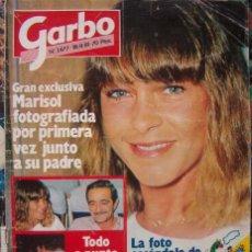Coleccionismo de Revista Garbo: REVISTA GARBO / MARISOL, URSULA ANDRESS, MIGUEL BOSE, CAROLINA DE MONACO,. Lote 45295124