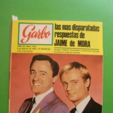 Coleccionismo de Revista Garbo: Nº 739 06/05/1967 ROBERT VAUGHAM DAVID MC.CALLUM - LOS STOP - JULIE ANDREWS - BRITT EKLAND . Lote 45374827