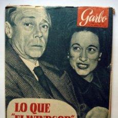 Coleccionismo de Revista Garbo: MAGNÍFICO LOTE DE 14 REVISTAS GARBO AÑOS 50.. Lote 45778327