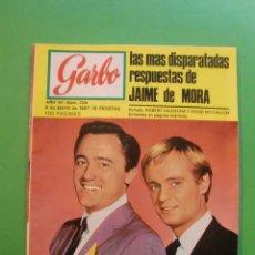 Coleccionismo de Revista Garbo: GARBO Nº 739 6/5/1967 ROBERT VAUGHAM Y DAVID MC.CALLUM - LOS STOP - BRITT EKLAND. Lote 47473055