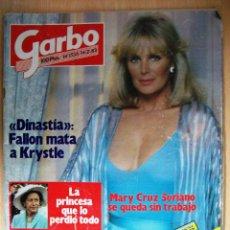 Coleccionismo de Revista Garbo: REVISTA GARBO. Nº1556. AÑO 1983. MARY CRUZ SORIANO. DINASTÍA, FALLON MATA A KRYSTLE. PETER STRAUSS. Lote 47566071