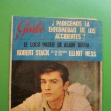 Coleccionismo de Revista Garbo: Nº 657 09/10/1965 ALAIN DELON - RINGO - ADIOS A LIONEL TERRAY - LIZ TAYLOR - ROBERT STACK. Lote 47576421