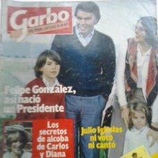 Coleccionismo de Revista Garbo: GARBO-NOVIEMBRE 1982. Lote 47797463