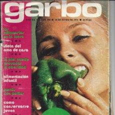 Coleccionismo de Revista Garbo: REVISTA GARBO. Nº998. 14 JUNIO 1972. ESPECIAL DIETÉTICA. Lote 48155778