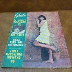 Coleccionismo de Revista Garbo: REV.GARBO 9/65.-ANA Mª DE GRECIA,EL TRONO DEL SHA,FRAY ANTONIO MONJE DE HIROSHIMA,MODA INFANTIL. Lote 48483374