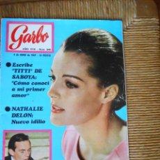 Coleccionismo de Revista Garbo: GARBO Nº848 -4 JUNIO DE 1969. Lote 50266641
