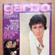 Coleccionismo de Revista Garbo: GARBO Nº 1166 , 1975 , MANOLO OTERO. Lote 51462186